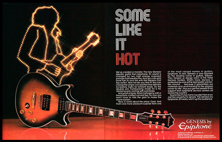 Some Like It Hot: Epiphone Genesis