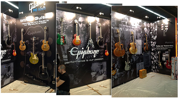 Epiphone Messe Booth