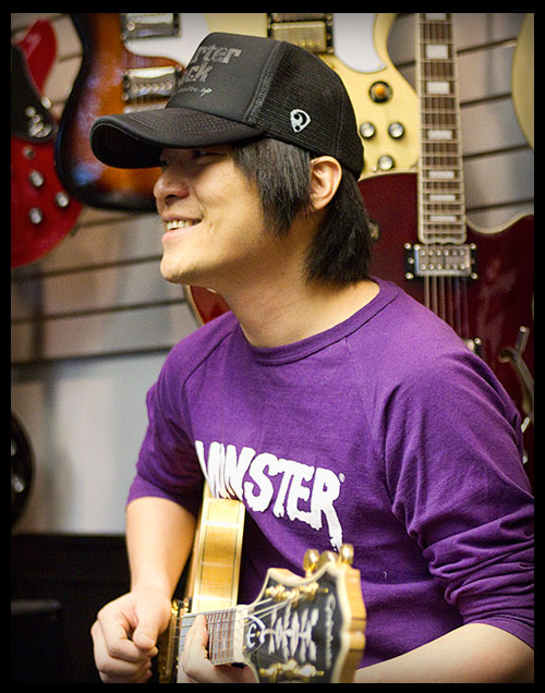 Mayday Guitarist Monster