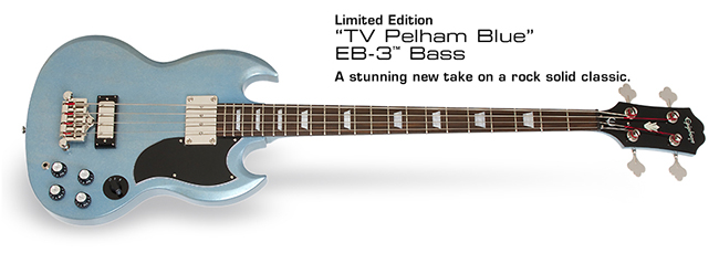 Ltd. Ed. TV Pelham Blue EB-3