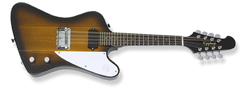 epiphone mandobird takes off with flying colors and 8 string option. Black Bedroom Furniture Sets. Home Design Ideas