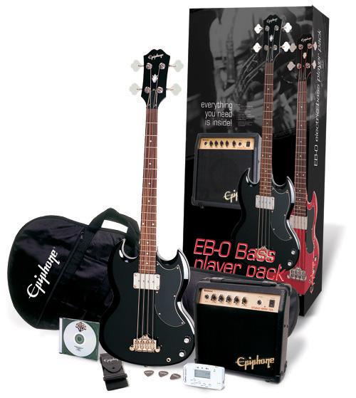 epiphone player pack eb 0 bass. Black Bedroom Furniture Sets. Home Design Ideas