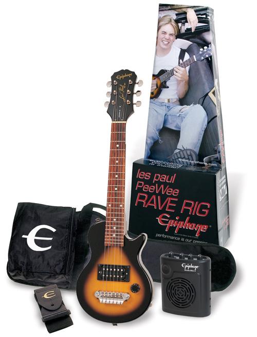 epiphone player pack lp peewee raverig. Black Bedroom Furniture Sets. Home Design Ideas
