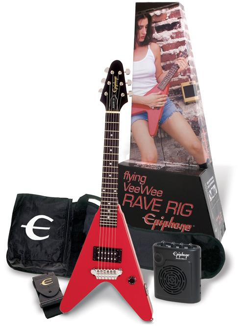 epiphone player pack flying veewee raverig. Black Bedroom Furniture Sets. Home Design Ideas