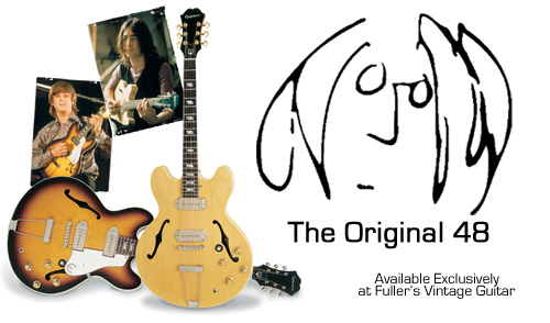 Epiphone casino john lennon limited edition for sale pharmacie geant casino tours
