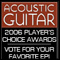 Vote For Your Favorite Epi In Acoustic Guitar Magazines Players