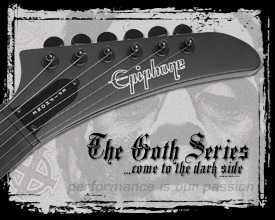 Epiphone Goth Series Come To The Dark Side