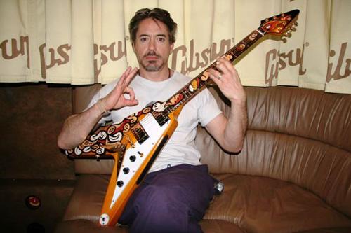 Robert Downey Jr 2007