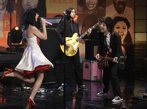 Katy Perry Performs On The Tonight Show