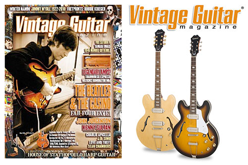 Vintage gutiar magazine assured