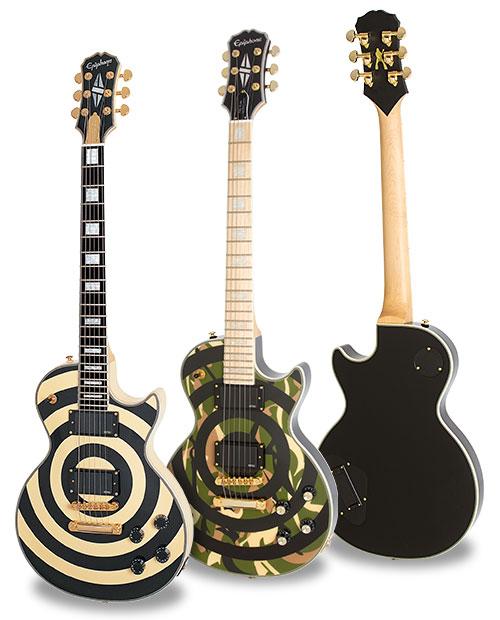 Zakk wylde guitar camo