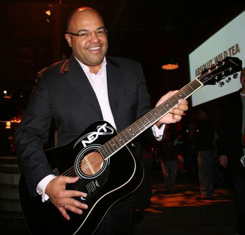Mike Tirico: Epiphone-Invades-the-ESPN-NEXT-Ranch