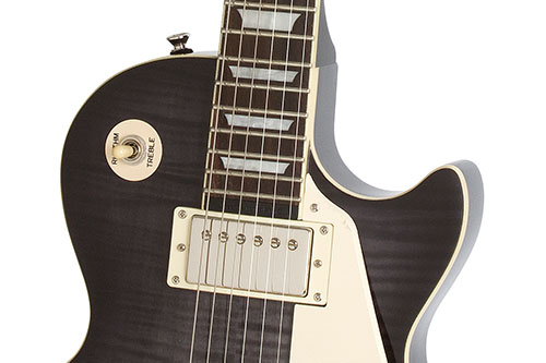 Les paul ultra iii where tradition meets technology thats why epiphone designed the new les paul ultra iii with the same look and features of a traditional les paul but added new technology giving you a swarovskicordoba Choice Image