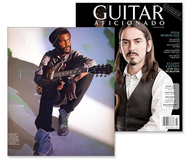 Gary Clark Jr. in Guitar Eficionado
