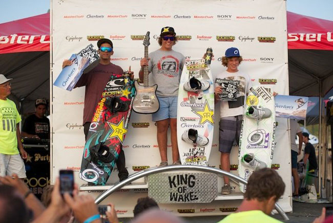 Epiphone Rocks The 2012 MasterCraft Pro Wakeboard Tour – Branson, MO.