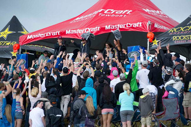 The 2012 Mastercraft Pro Wakeboard Tour  Monroe, Washington