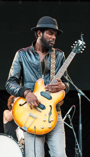 Gary Clark Jr. Performs At SummerStage in NYC With Casino