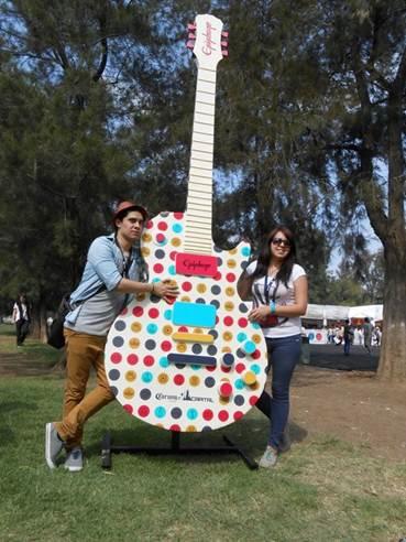 Epiphone at the Corona Capital Music Festival