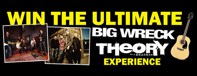 Win The Ultimate Big Wreck, Theory of a Deadman Experience