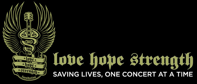 Love Hope Strength, Saving Lives One Concert At A Time
