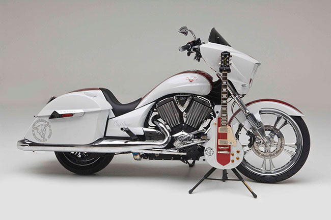 Sturgis Buffalo Chip® Presents Customized Victory Motorcycle and Epiphone Guitar As Sturgis Rider® Sweepstakes Prizes