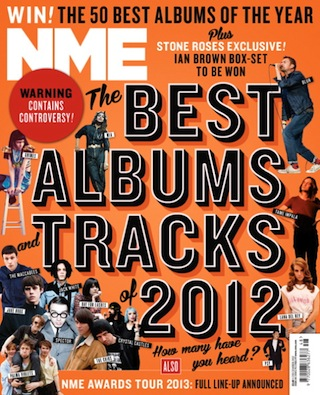 NME - Best Albums/Tracks 2012