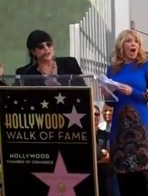 Heart Gets Star On Walk of Fame