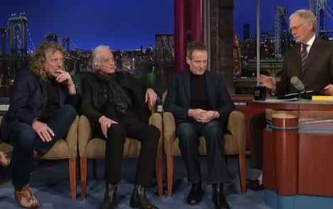 Led Zeppelin Visit David Letterman