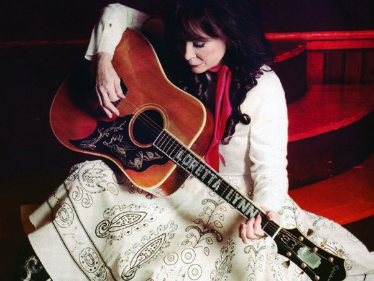 Loretta Lynn and her Epiphone Dove
