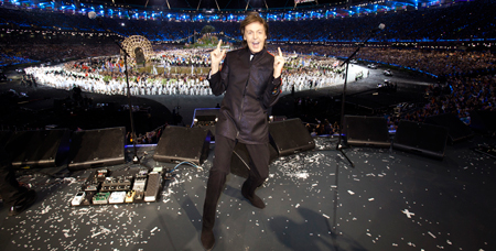 Macca Brings Epiphone to the Olympics