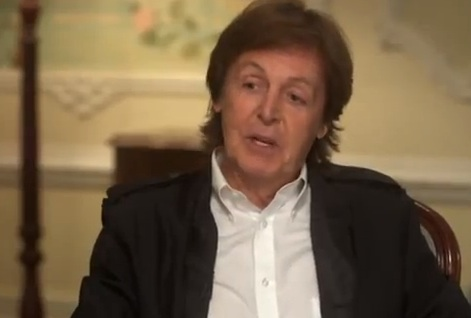 McCartney Talks With David Frost