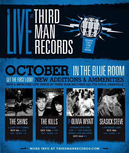 Rocktober at Third Man
