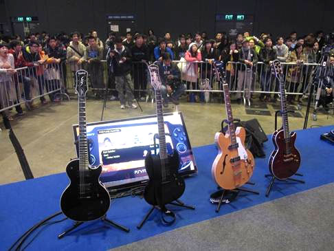 Parsons Music Hosts Rocksmith™ Tournament At 2012 Asian Game Show