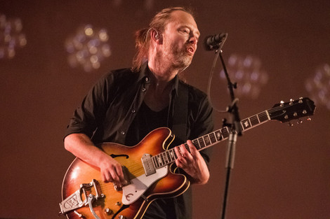 Radiohead Back in the Studio