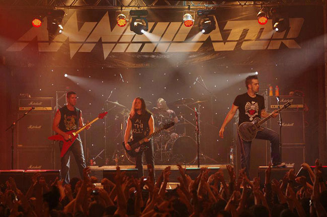 Annihilator Heading To South America