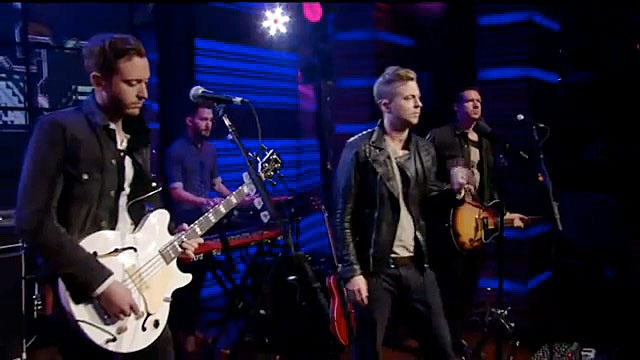 OneRepublic on Live With Kelly and Michael