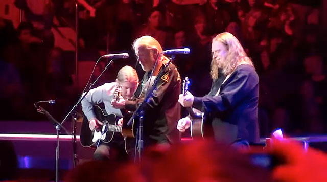 Allman Brothers Classic Steals The Show at Crossroads 2013