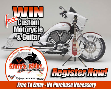 Buffalo Chips Sturgis Rider Sweepstakes Registration