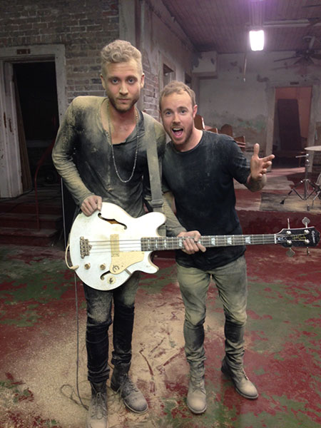 One Republic Video Gets Messy