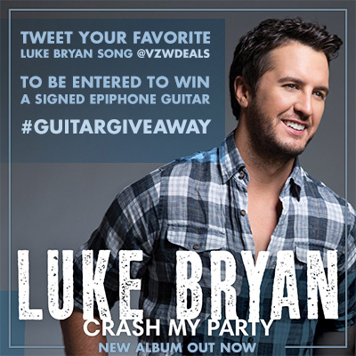 You Could Win An Epiphone Guitar Signed By Luke Bryan