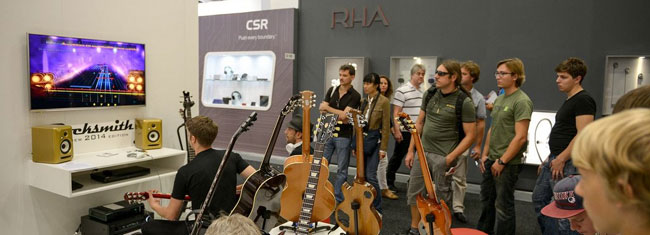 Epiphone Rocks 2013 IFA In Berlin