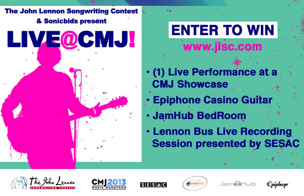 The John Lennon Songwriting Contest presents LIVE@CMJ!