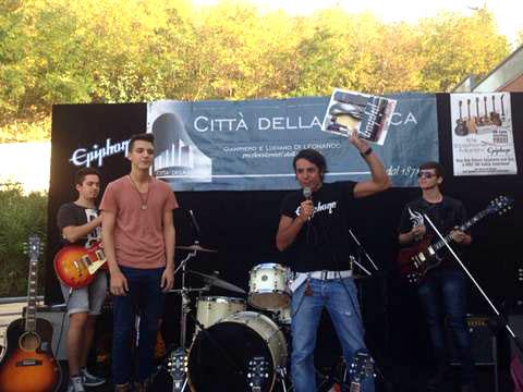 Citta Della Musica in Chieti, Italy Hosts Epiphone Day