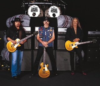 Lynyrd Skynyrd and Epiphone Rock for Veterans