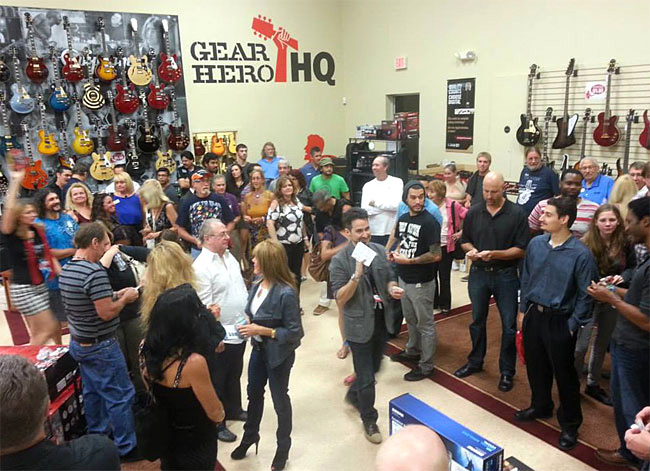 Heroic Grand Opening at Gear Hero HQ in Deerfield Beach, Florida