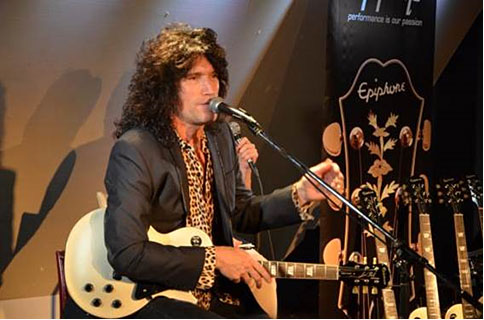 Tommy Thayer Meet And Greet at Isbhibashi Gakki in Tokyo