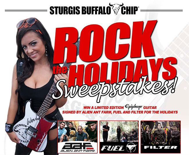 Sturgis Buffalo Chip: Rock The Holidays Sweepstakes!