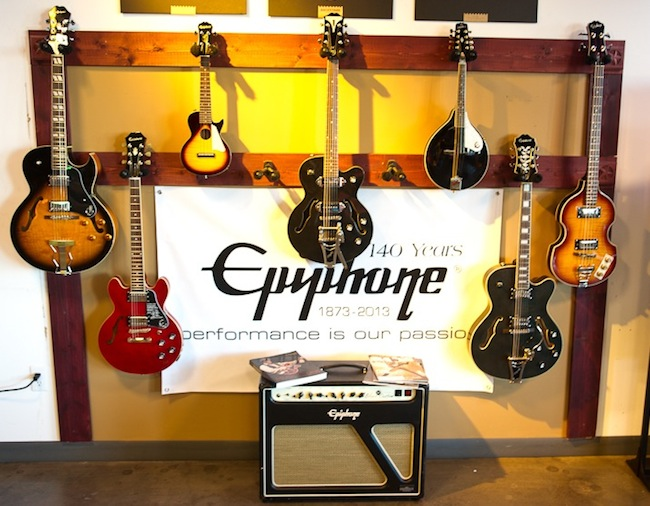 Epiphone Kicks Off SXSW
