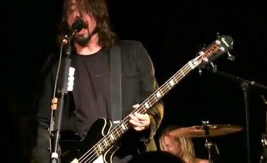 Dave Grohl Joins The Rolling Stones in Anaheim