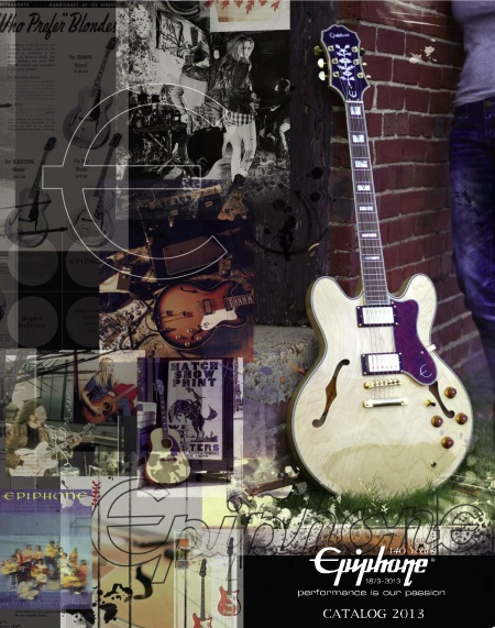 New Epiphone 2013 Catalog